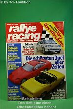Rallye Racing 13/88 Bitter Irmscher GT VW Rallye Golf