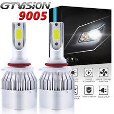 2Pc 9005 HB3 LED Headlight Bulb Kit For Toyota 4Runner 2003-2018 Camry 2000-2017