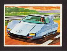 Mercedes Diesel Car 1980 Spanish Collector Card #47