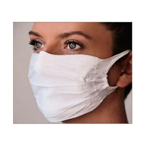 wiederverwendbare Gesichtschutzmasken mit Silber-Ionen 2er Pack