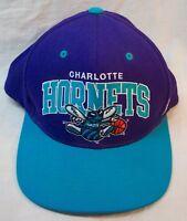 VINTAGE STYLE CHARLOTTE HORNETS NBA BASKETBALL Mitchell & Ness BASEBALL HAT CAP