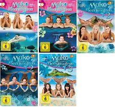 Mako - Einfach Meerjungfrau - Staffel 1.1+1.2+2.1+2.2+3 - NEU OVP - DVD Set 1-3