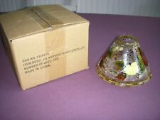 Yankee Candle Harvest Bounty Crackle Shade For Large Jar Candles NEW