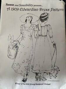 sense snd sensibility A 1904 edwardian dress pattern