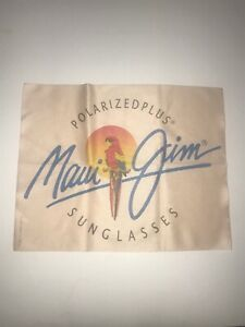 Maui Jim Microfiber cleaning cloth. New In Plastic. For Cleaning Glasses