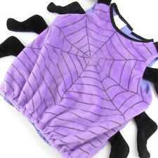 Baby Toddler Spider Halloween Costume 12-24 Months Purple Black Insect