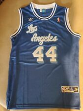 Adidas Los Angeles Lakers Jerry West 44 Xxl Jersey Basketball Double stitched