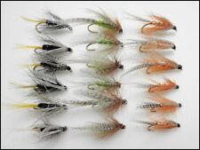 Loch Fishing Flies, 18 Wet Flies, Kate McClaren & Dabblers, Size 10/12
