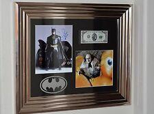 BATMAN Returns SCREEN USED PROP Money AUTOGRAPH Michael Keaton Danny DeVito set