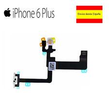 CABLE FLEX BOTON ENCENDIDO IPHONE 6 PLUS 5.5 INTERRUPTOR FLASH MICROFONO ON OFF