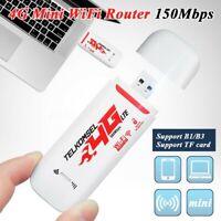 Tragbare 4G/3G LTE Auto WIFI Router Hotspot 150 Mbit/S Drahtlos USB Dongle C9W1
