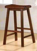 "Coaster 180079 29"" Inch Dining Bar stool Walnut Set of 2 / 4"