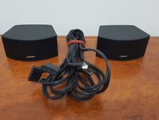 Bose Speakers x2 + Cables for CineMate GS Series II Digital Home Theater System