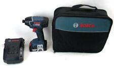 "Bosch 25618-01 18V Cordless  Impact Driver 1/4"" Hex Kit Fatpack Bats (F4)"