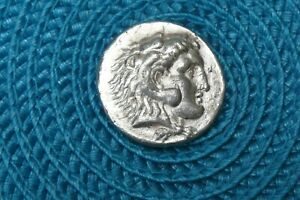 Alexandre le grand tétradrachme d'argent Tarsos Silver coin