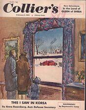Collier's Magazine February 2 1952 Anna Rosenberg Queen Of Sheba 072317nonjhe