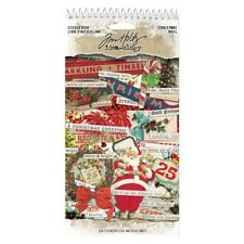 NEW Tim Holtz Idea-ology Christmas Sticker Book