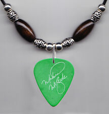 Martina McBride Signature Green Guitar Pick Necklace - 2008 Tour