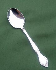 SILVER PLATED PRESERVE SPADE/SPOON – COMMUNITY - FLORAL TERMINAL    *