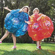 2x Bumper Ball Gonflable Corps Zorbing Ball Zorb Bubble Soccer Rouge 60 Cm