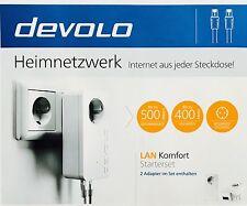 PLC9778 Devolo dLAN 550 duo+ Starter Kit weiß Neu