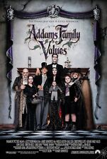 ADDAMS FAMILY VALUES (1993) ORIGINAL MOVIE POSTER  -  ROLLED