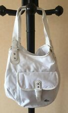 DESTOCKAGE NEUF DE STOCK @ SAC LACOSTE MODELE BOSTON MODELE HOBO BAG BLANC NEUF
