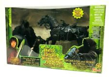 Toybiz Lord of the Rings Frodo & Ringwraith Rider Action Figure Deluxe Set Rare