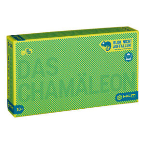 """The Chameleon"""" Funny and challenging party game German Version Award Winning"""