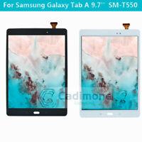 9.7 '' Pour Samsung Galaxy Tab A Ensemble numériseur LCD tactile SM-T550/551/555
