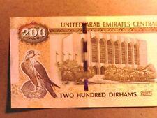 UNITED ARAB EMIRATES 2017 200 Dirhams UNC