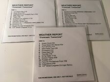 Weather Report PROMO 3x CD Forecast: Tomorrow