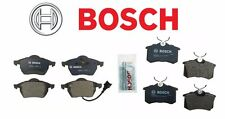For Audi TT VW Golf Jetta Set of Front & Rear Disc Brake Pad Bosch QuietCast