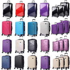 4Wheel Hardshell Spinner ABS/PC Suitcase Luggage Trolley Case Cabin Diamond