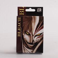 Anime Bleach Poker Cards Kurosaki Ichigo Playing Cards 1 Set/54 Pcs With Box