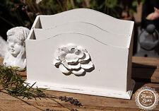 Briefständer Briefablage Briefhalter Briefbox Zeitungsständer Landhaus Shabby