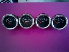 "Gauges Kit- Oil Pressure psi Temperature ""F  Volt Fuel Gauge 52mm Electrical"