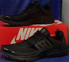Nike Air Presto Triple Black SZ L ( US 11-12 ) { 305919-009 }