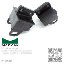 MACKAY ENGINE MOUNT SET 6 CYLINDER 149, 179 & X2 RED MOTOR [HOLDEN EH-HD SERIES]