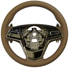 2015 Cadillac ATS Steering Wheel Med. Cashmere Leather New 23488521 23207586