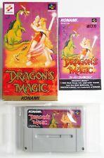 DRAGON'S MAGIC Dragon's Lair Nintendo Super Famicom SFC SNES Japan