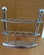 Toothbrush Holder Metal Stainless Steel Look RRP£25