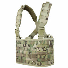 Condor Ops Chest Rig Carrier MOLLE System Airsoft Webbing Genuine Multicam Camo