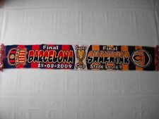 sciarpa BARCELONA - SHAKHTAR DONETSK final uefa super cup 2009 football scarf