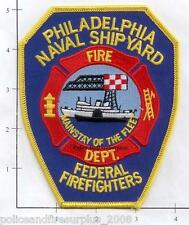 Pennsylvania - Philadelphia Naval Shipyard PA Fire Dept Patch v2
