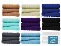 3X Large Jumbo Bath Sheets 100% Egyptian Combed Cotton Big Towels Wow Bargain