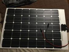 18V 100W Flexible Solar Panel For 12V Battery Mono Motorhomes Boats Cars Roof  *