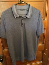 Perry Ellis Polo Shirt Adult Large Blue Golf Rugby Casual Mens