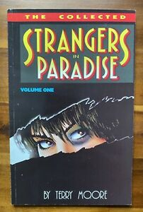 Terry Moore Strangers in Paradise Vol 1 TPB + Motor Girl #1 1st Prints Signed