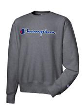 New Champion Life Reverse Weave Men's Sweatshirt Size L Dark Grey